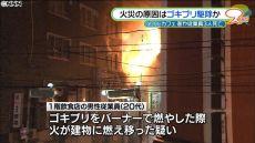 広島雑居ビル火災 ガスバーナーでゴキブリ駆除が原因だって!?